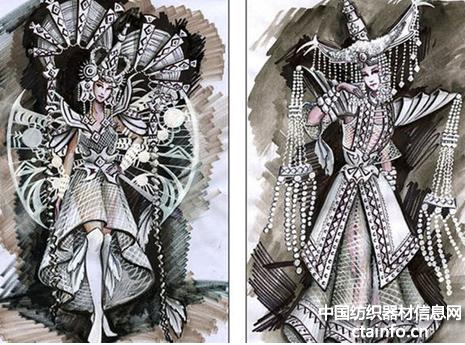 纸制蒙古风结婚礼服,有没有惊艳到你呢?