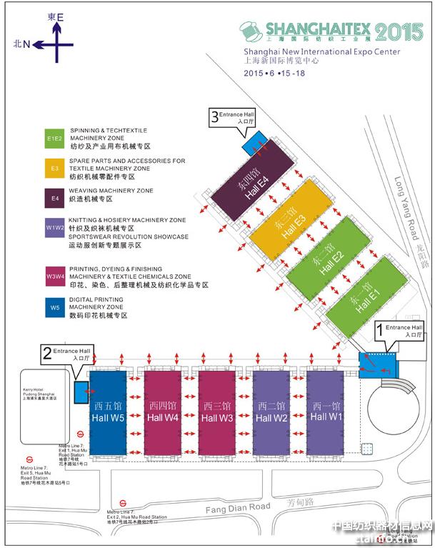 根据展会平面图,快速找到企业展位,快来试试吧 - 中国纺织器材信息网