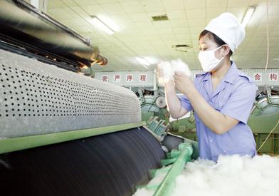 """棉纺织企业""""成绩单"""" 这一组数据令人心动"""