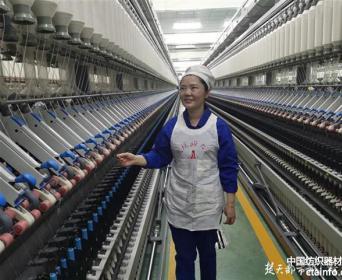 纺织工匠鄢芙蓉:35秒接上10根细纱线是基本功